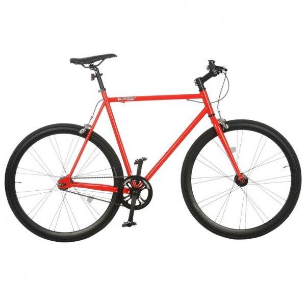 Dunlop Fixie Track Bike 700C Größe 54 in Rot für 109 € inkl. VSK@sportsdirect.com