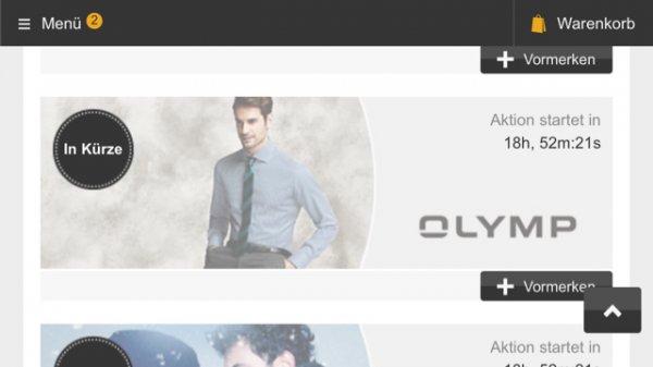 Olymp Hemden SALE % - 18€ je Hemd (bzw. 8,- € mit Werbegutschein) / Level 5 / Custom fit / bei Zalando Lounge