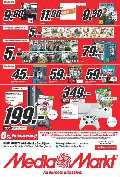 (LOKAL JENA) Halo - The Master Chief Collection für 45 Euro / Weiße XBox für 349 Euro