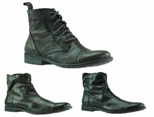 JACK & JONES Herren Stiefel Leder ver. Modelle für 39,99€ @ebay