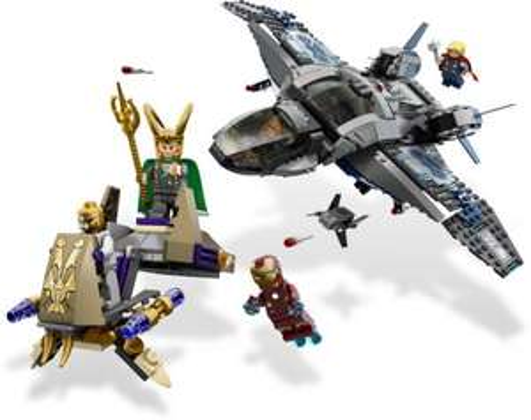 """[Limango Neukunden] Lego 6869 Marvel Super Heroes """"Auseinandersetzung in der Luft"""" 60,93 €"""