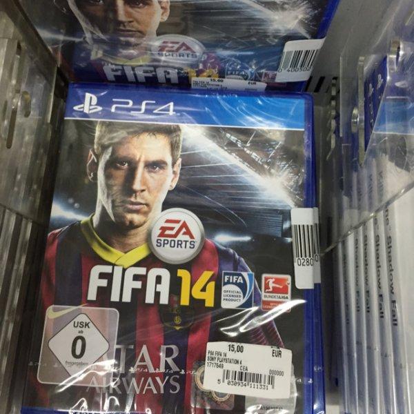 FIFA 14 15€ Mediamarkt Köln Kalk
