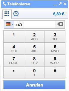 0180 anrufen: max. 2ct/min mit Google