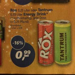 Tantrum Energy Drink 99 Cent bei Real -Lokal-