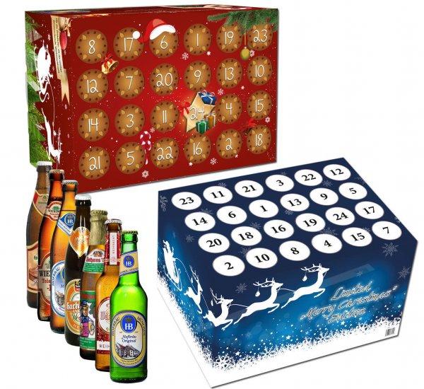 Adventskalender mit verschiedenen Bieren für 29,95€ @ebay