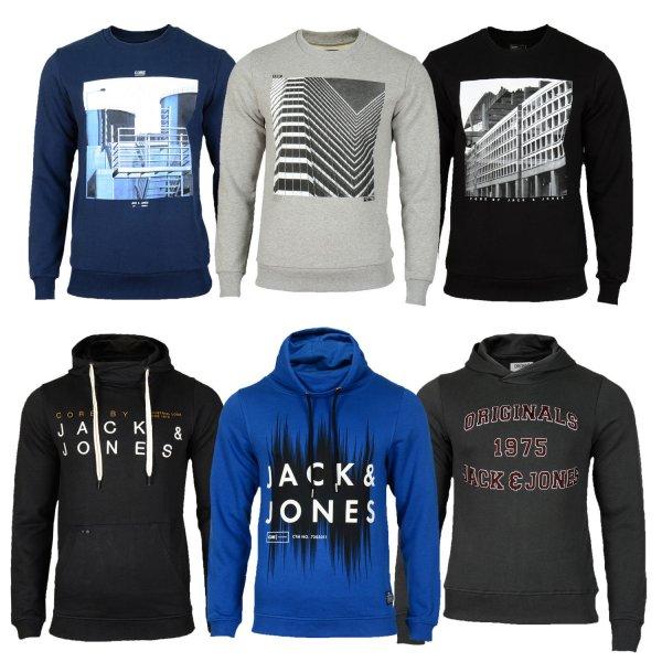 Jack and Jones Hoodie oder Sweatshirt div Farben für 19,90€ auf ebay