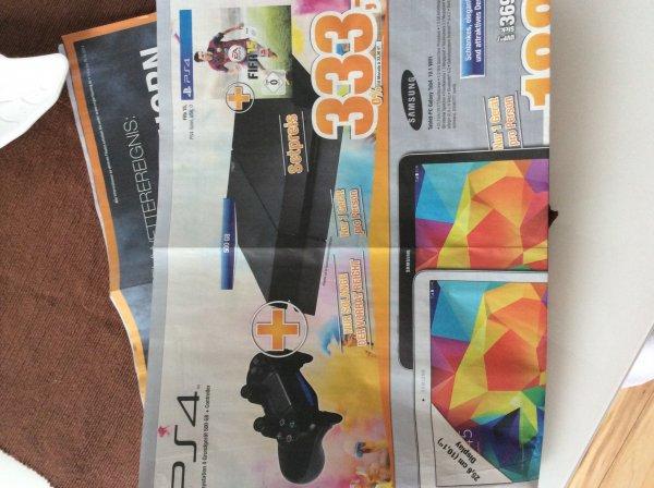 [lokal] Pinneberg + Elmshorn PlayStation 4 inkl. FIFA 15