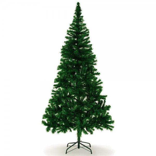 ebay: Weihnachtsbaum 180cm 533 Spitzen inkl. Ständer für 14,99€