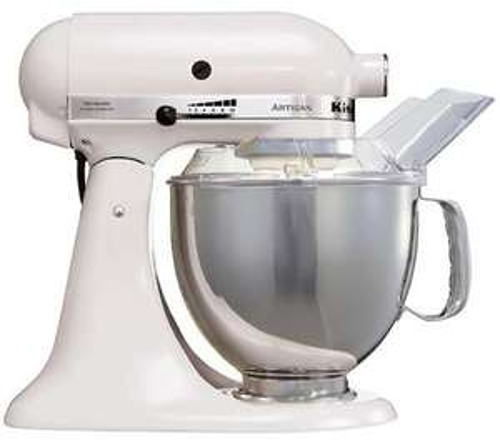 Kitchenaid 5KSM150 Artisan Creme oder Weiss - 416,63 EUR auf AMAZON.IT