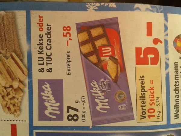 Milka Schokolade 0, 50 Euro bei Abnahme von 10 Stück bei Thomas Philipps