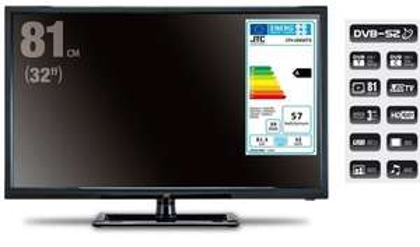 (Lokal Ibbenbüren?)Marktkauf: JTC, HD LED TV 80cm (32 Zoll) mit DVB-T/-C/-S2 Tuner, JTC 2032TT