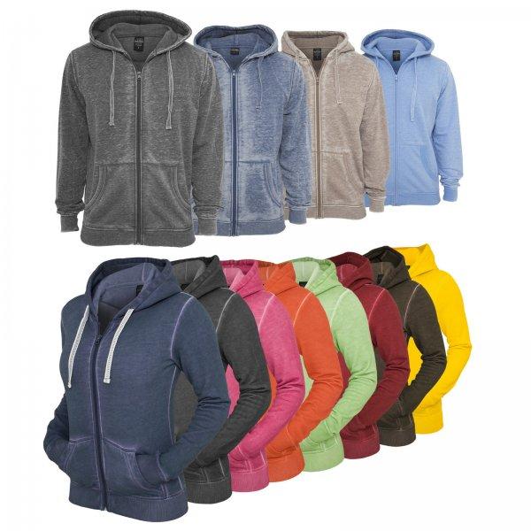 Spray Dye Zipper Hoody Jacke Damen für 17,90€ @ Ebay