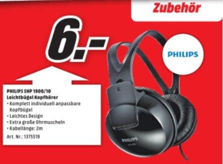 Philips Leichtbügen Kopfhörer SHP 1900/12 @MM Aschaffenburg