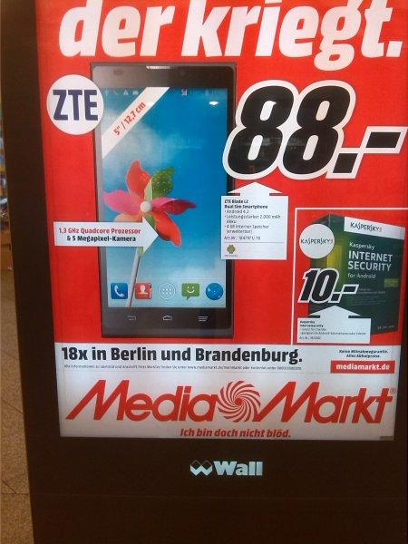 (Lokal Berlin Media Markt) ZTE Blade L2
