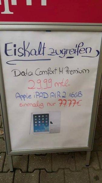 (Berlin) iPad Air 2 Angebot mit Data Comfort M Premium