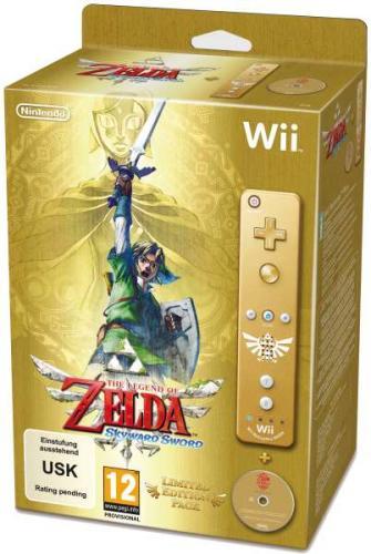 Legend of Zelda: Skyward Sword Limited Edition inkl. Wiimote Plus für 52 Euro@ zavii