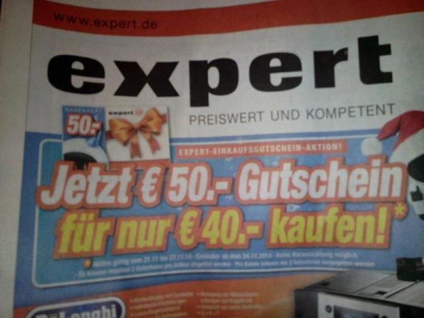50€ - Gutschein für 40€ - Expert Franken / Schwaben