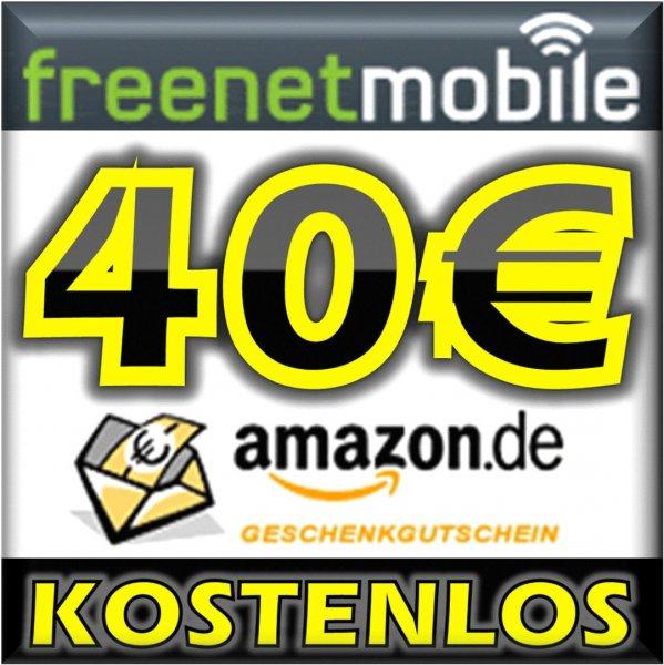 [ebay, Schubert] 40€ Amazon bei Abschluss einer freenetMobile DUO SIM-Karte