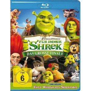 Shrek 4 (Blu Ray) @Amazon