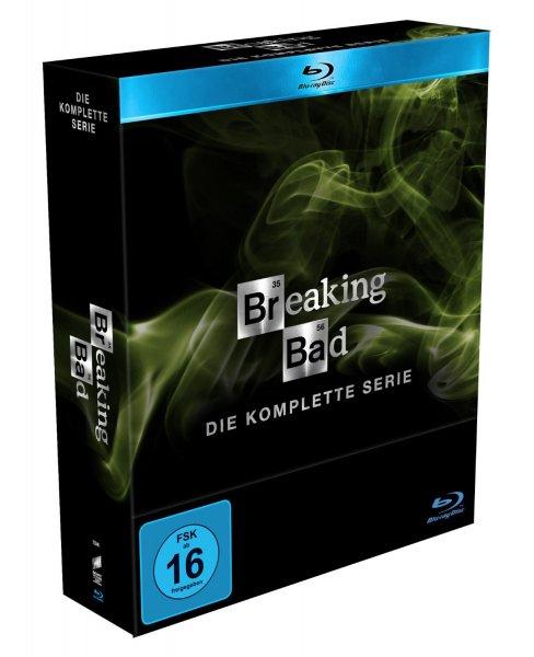 Breaking Bad - Die komplette Serie (Digipack) [Blu-ray] & [DVD] @ Amazon 75,97€
