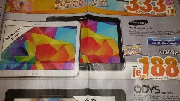 (Lokal Elmshorn+Pinneberg) Samsung Galaxy Tab 4 10.1 Wifi