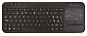 Logitech K400 Wireless Touch Tastatur (QWERTZ, deutsches Tastaturlayout) schwarz 22 Euro Amazon - Cyber Monday