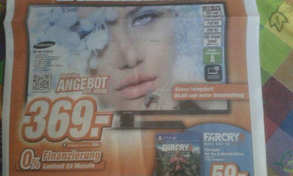 [Lokal: Offenburg] SAMSUNG UE40H6273 40 Zoll Smart TV für 369€ (idealo: 434,75€)
