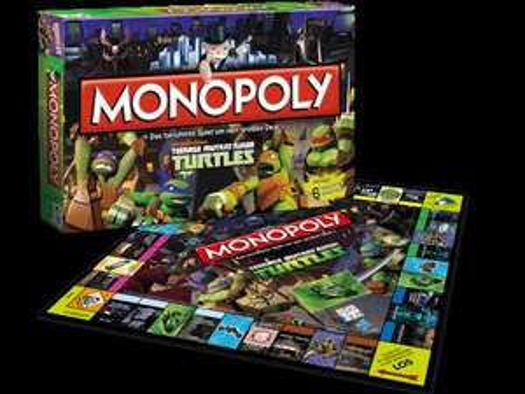 Cyber Monday: Alle Turtles Produkte Monopoly Turtles, TopTrumps Turtles und Turtles 4 Gerwinnt STARK reduziert