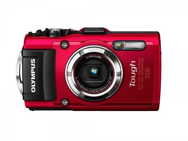 Olympus TG-3 Digitalkamera rot oder schwarz (16 Megapixel, wasserdicht bis 15m) inkl. Vsk für 297,49 € > [amazon.it]