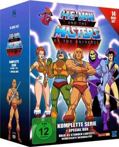 [Amazon] He-Man and the Masters of the Universe - Die komplette Serie + Special Box (14 DVDs) für 34,97€ oder als Blu-ray-Box (2er Disc) für 39,97€!