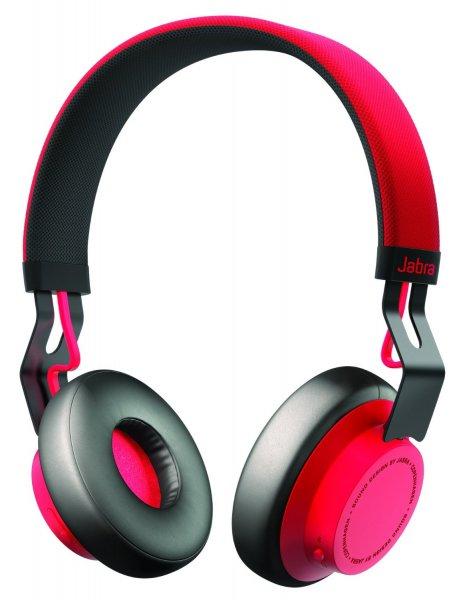 Jabra Move Wireless Bluetooth On-Ear-Kopfhörer (Stereo-Headset, Freisprechfunktion, Bluetooth 4.0) rot