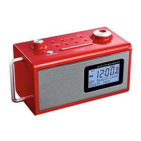 Radio: TEAC R-5 Rot (Hi-Fi AM/FM mit Akku) für 39 Euro @Redcoon.de