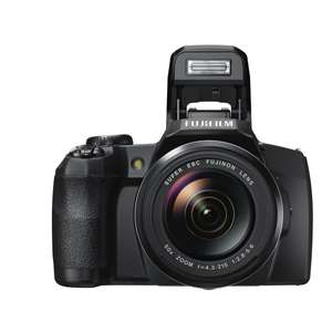 Fujifilm FinePix S1 Kompaktkamera (Full HD, 16 Megapixel, 7,6 cm (3 Zoll) Display, 50-fach opt. Zoom, WiFi) schwarz für 266,13 € @Amazon.fr