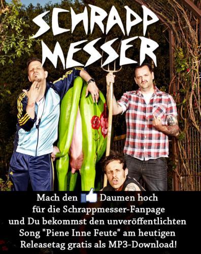 """Kostenloses MP3 der Band """"Schrappmesser"""""""