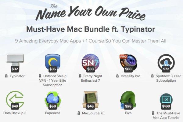 Zahl was du willst Mac Bundle - u.A. 1 Jahr Hotspot Shield VPN