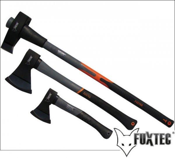FUXTEC 3er Axt-Set - Spaltaxt Universal