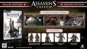 Assassin's Creed 3 Digital Deluxe (uPlay-Key) für 14,95€