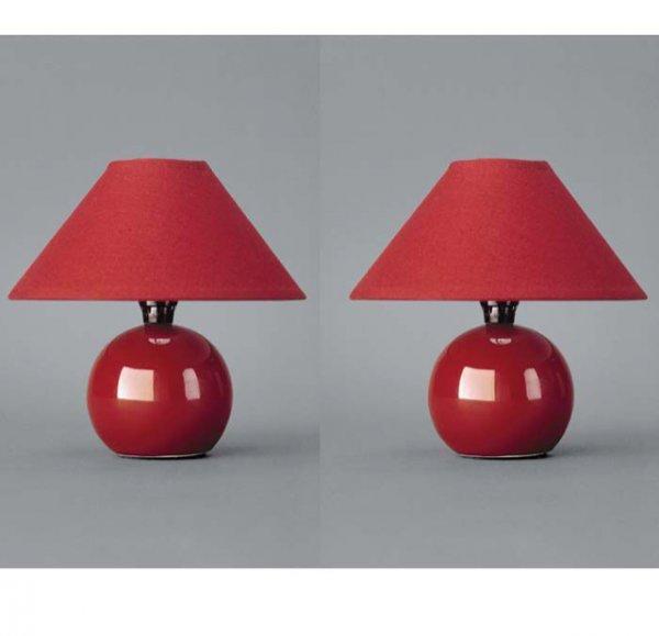 """Tischlampe """"BUYL"""" in rot für 3,99 EUR incl. Versand"""