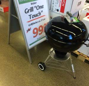 Weber One Touch Original Lokal Marktkauf Loddenheide Münster 99€ (idealo 147,90€)