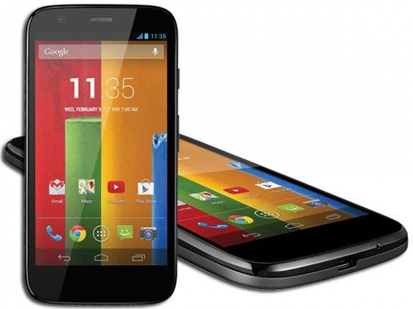Motorola Moto G 8GB (1. Gen) für 120€