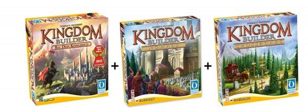 Queen Games 61132 - Kingdom Builder Deluxe Bundle für 29,98€ @Amazon.de