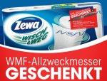 EDEKA [BUNDESWEIT] ZEWA Wisch&Weg Klassik (mit WMF-Messer Aktionscode) für 1.49€