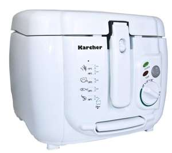 Fastfood @ Home: Karcher FR 510 Fritteuse 2,5 Liter  1800 WATT @ Ebay Basket