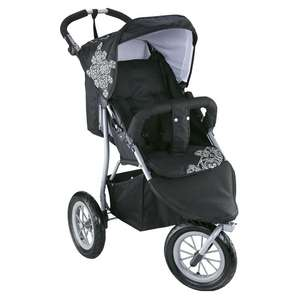 Knorr-baby, Sportwagen Joggy Air XL (black - withe) für 59,95 Euro @Real Onlineshop