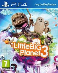 Little Big Planet 3 PS4 für 40,86€ bei Gamestop