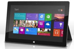 Microsoft HD-Tablet Surface RT mit 11 Zoll und 32 GB (refurbished*) @groupon