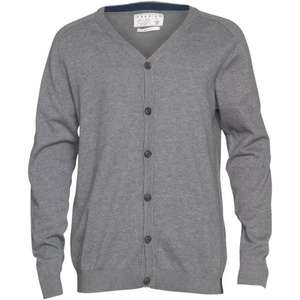 JACK AND JONES Herren Premium Cardigan Grau meliert