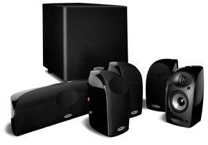 Polk Audio TL1600 Blackstone 5.1 Satelliten Surround Lautsprecher Set mit Subbass Schwarz (6-tlg) für 234,85€ @ZackZack