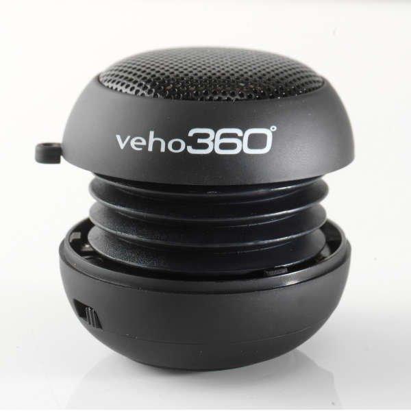 [zavvi] Veho 360 M1 - Wiederaufladbarer Pop Up Lautsprecher für 7,55 €