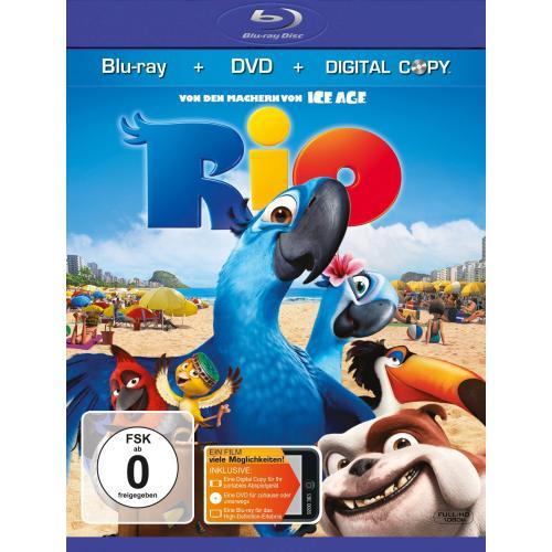 Rio [Blu ray + DVD + Digital Copy] @ amazon.de Herbstschnäppchen